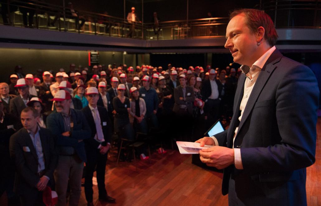 Jeroen Kreijkamp vijf jaar ondernemersfonds