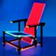 verlichte rietveldstoel
