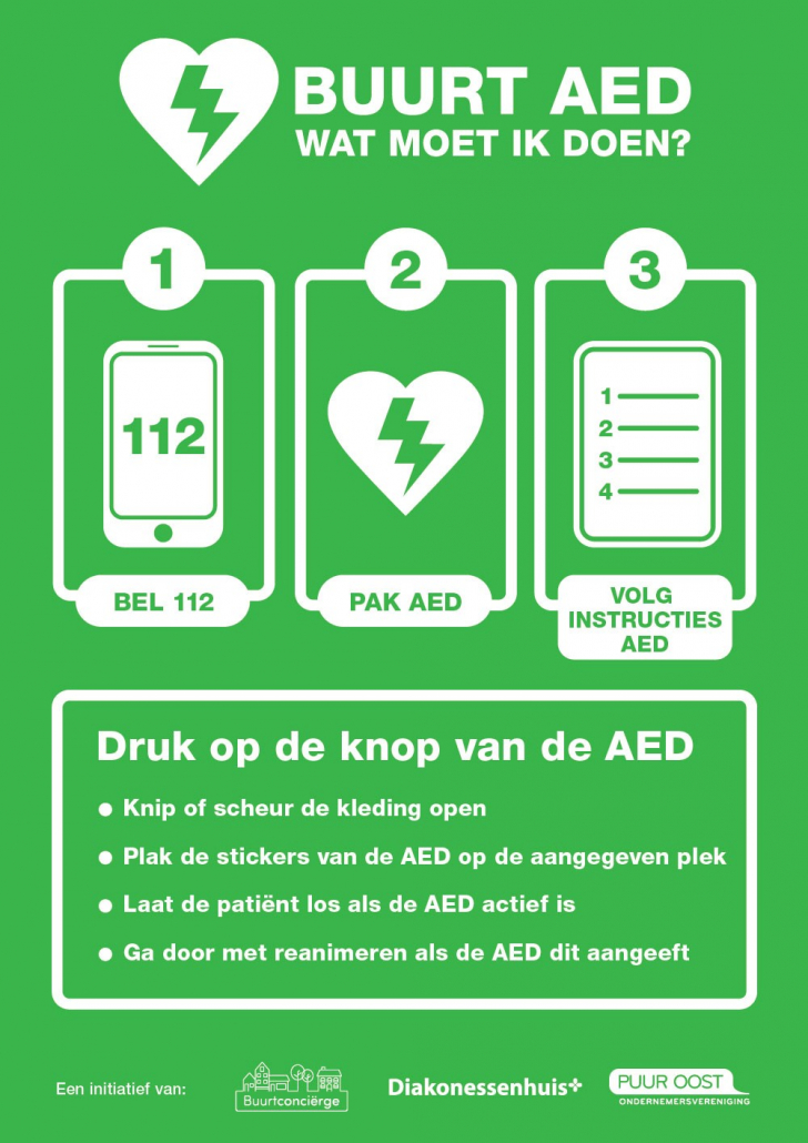 AED-Flyer